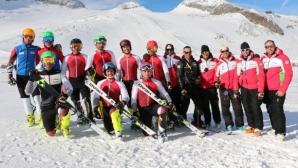 Националите тренират с австрийци и словенци на глетчера Хинтертукс