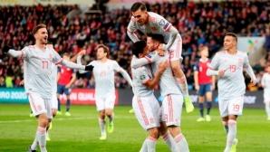 Историческо! Испания стартира с най-разнообразния си състав от 699 мача