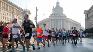Лиляна Георгиева и Дарио Ивановски бяха най-бързи в старта на 10 километра от Маратона на София