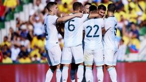 Отлична Аржентина разгроми Еквадор в контрола (видео)