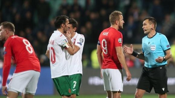 Капитанът на България не се прибра на почивката, за да говори с феновете