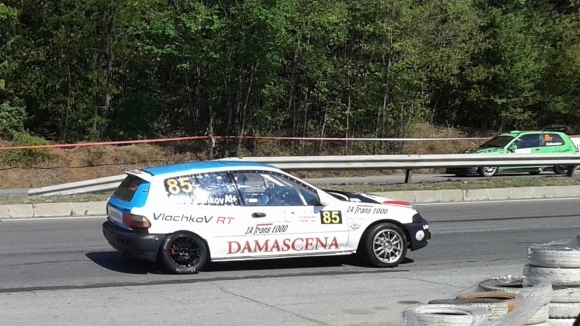 Иван Влъчков завършва сезона с участие на Писта Бургас