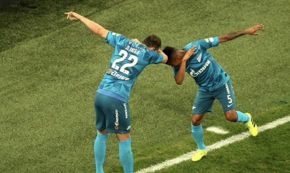 Зенит проведе наказателна акция срещу тима на Попето (видео)