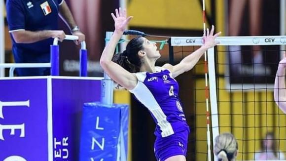 Ева Янева с 15 точки за победа №3 на Волеро