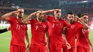 УЕФА ще разследва козируването на турците