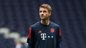 Аякс предложи да спаси Томас Мюлер от пейката в Мюнхен