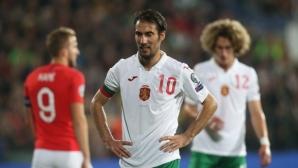 България 0:0 Англия, Балъков с цели шест промени