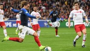 Франция 1:1 Турция (гледайте на живо)