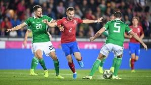 След победата над Англия, чехите се изложиха срещу Северна Ирландия
