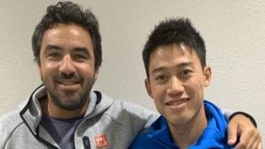 Кей Нишикори се раздели с дългогодишния си треньор