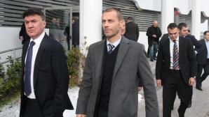 Увещават шефа на УЕФА да наложи тежко наказание за назидание на останалите