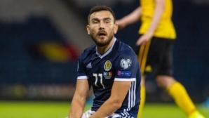 Шотландски халф се оттегли от националния отбор