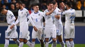 Резервите на Италия изиграха силни 20 минути за 5:0 (видео)