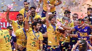 """Велика Бразилия! """"Селесао"""" с 11-а победа и трети трофей от Световната купа (видео + снимки)"""