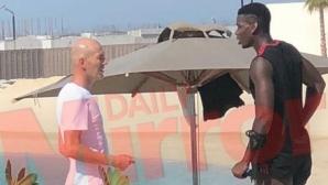 Среща между Зидан и Погба отприщи наново слуховете