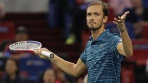 Даниил Медведев отказа още един турнир заради преумора