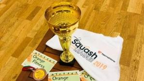 Squash League 4You продължи с четвърти турнир и 60 участника
