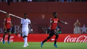"""Майорка 1:0 Реал Мадрид, червен картон за """"белите"""""""