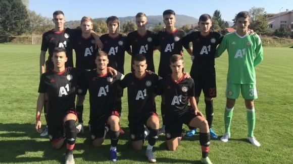 Юношите на ЦСКА-София вкараха 7 гола за едно полувреме