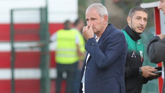 Никола Спасов: Мачът беше труден до вкарването на първия ни гол