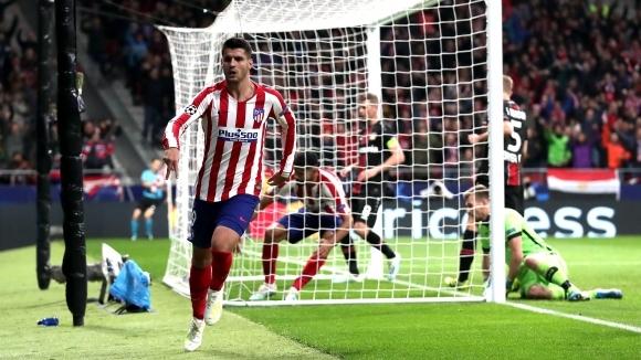 Атлетико Мадрид надделя над Байер