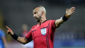 УЕФА с нова отлична оценка за Ивайло Стоянов