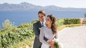 Появиха се първи снимки от сватбата на Надал