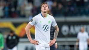 Волфсбург изпусна преднина от два гола (видео)
