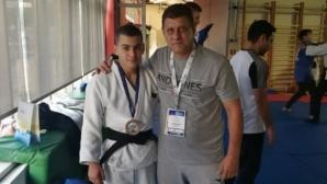 Иван Симеонов с бронз на Европейската купа по джудо за кадети