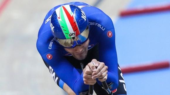 Италиански колоездач постави нов световен рекорд в индивидуалното преследване на писта