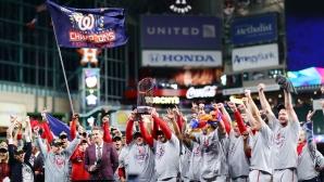 Вашингтон Нешънълс смълча Хюстън за безподобната си първа титла (видео)