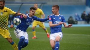 Динамо не сбърка срещу тима на Боби Цонев (видео)