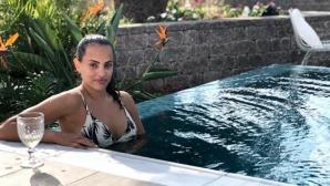 Израелска гимнастичка се глези с половинката си