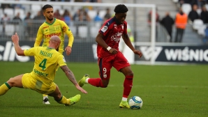 Бордо спря Нант за второто място