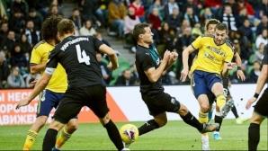 Попето и Ростов изпуснаха победата, допускайки два гола в добавеното време