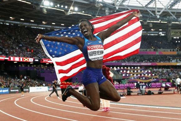 Олимпийската шампионка Харпър-Нелсън се завръща на пистата, за да гони трети олимпийски медал