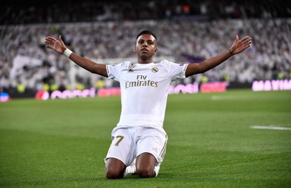 Новият бразилски феномен на Реал Мадрид се показа в ШЛ (видео)