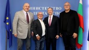Министър Кралев се срещна с президента на Европейския съюз по джудо Сергей Соловейчик