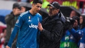 Маурицио Сари обясни защо смени Роналдо