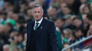 Майкъл О'Нийл пое Стоук, но ще продължи да води Северна Ирландия до края на квалификациите