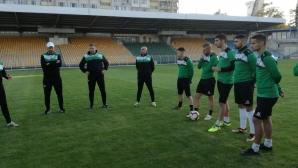 """Добра новина за футболен Бургас - """"шейховете"""" се върнаха у дома"""