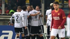 Парма допълнително стъжни седмицата на Рома (видео)