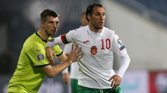 България 0:0 Чехия, Попето нападател в последния си мач