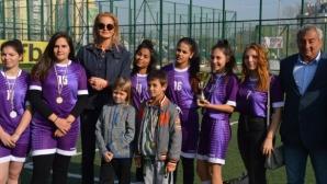 Стефка Костадинова и Ренета Камберова отличиха националните призьори сред децата и младежите в риск