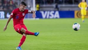 Пулишич пропуска мачовете на САЩ срещу Канада и Куба заради контузия