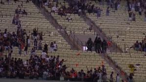 Размирици и протести срещу ВАР на мач в Бразилия