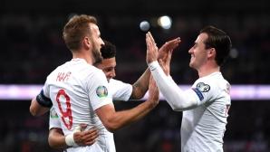 Англия подобри рекорда от нашия мач и ще играе на десето ЕП (видео)