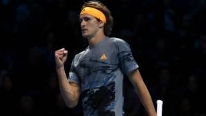 Шампионът Зверев e на полуфинал, Медведев не помогна на Надал