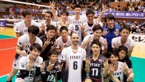 Силен Казийски с 21 точки, ДжейТЕКТ с 6 от 6 в Япония (видео + снимки)