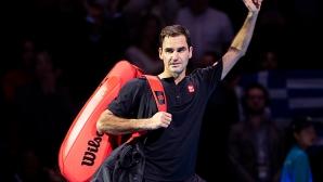 Федерер: Не успявах да влизам в разиграванията така, както исках